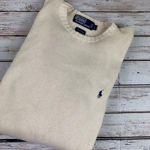 Men's Cotton Sweater by Polo Ralph Lauren